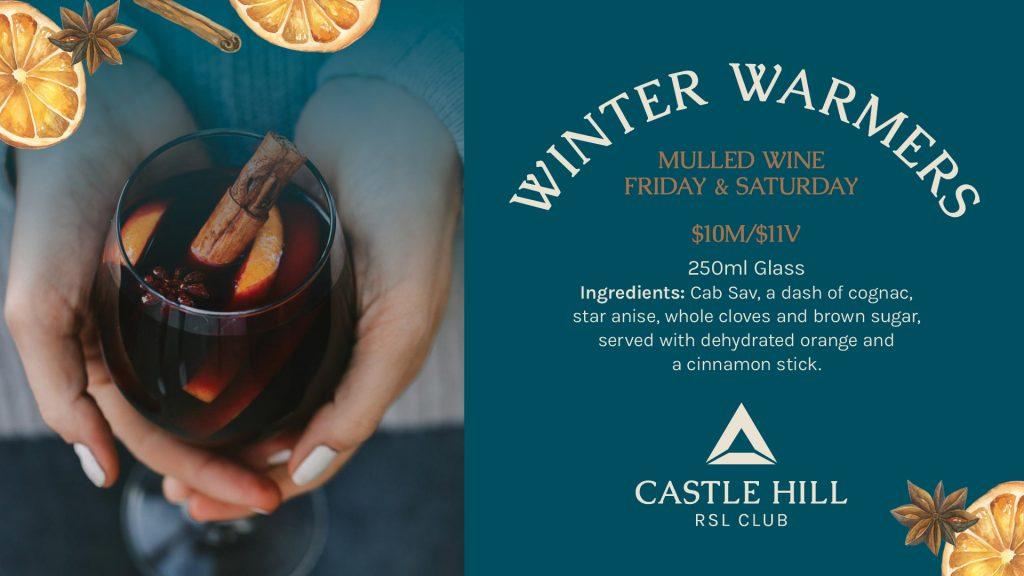 Winter Warmers Mulled Wine