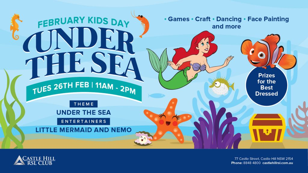 Under the Sea Kids Day