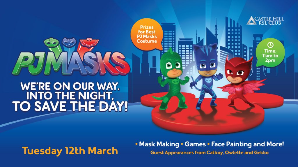 PJ Masks Kids Day
