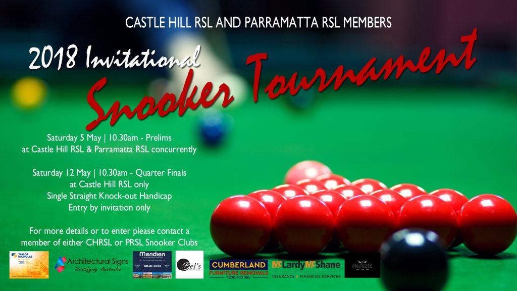 2018 Snooker Invitational