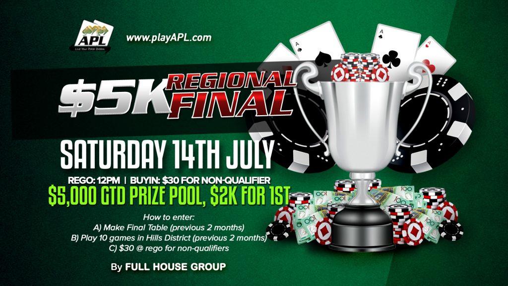 Poker: $5k Regional Final