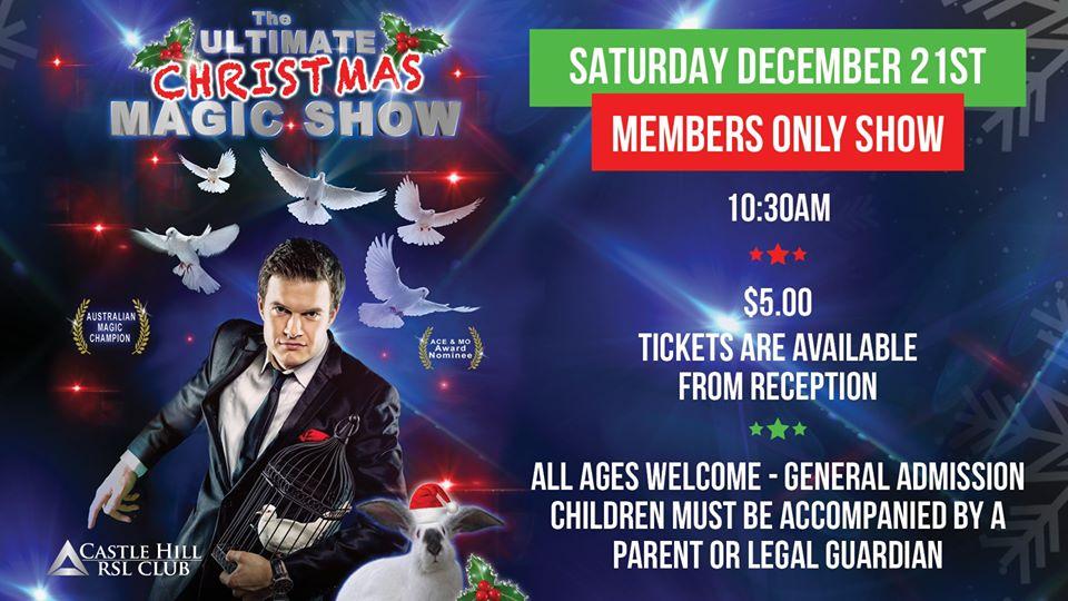 Ultimate Magic Christmas Show