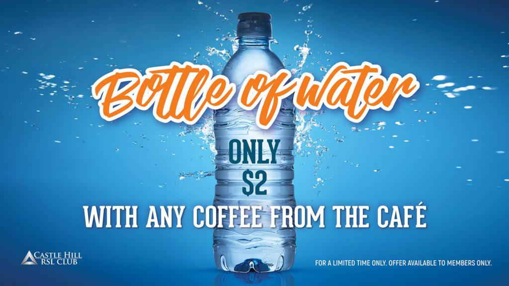 Café Water Offer