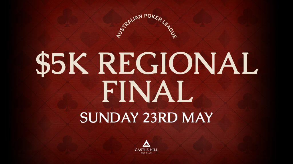 APL $5K Regional Final