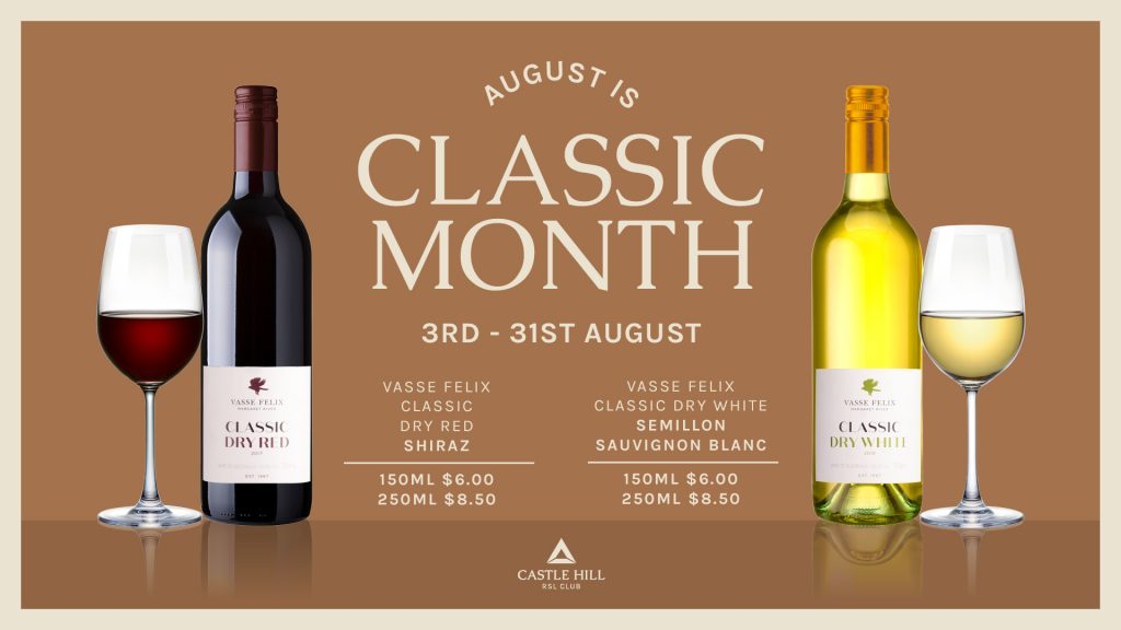 August is Classic Month