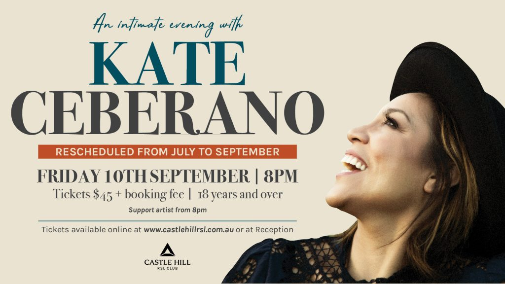 An Intimate Evening with Kate Ceberano