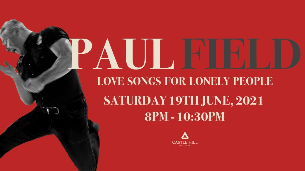 Paul Field Love Songs for Lonely People