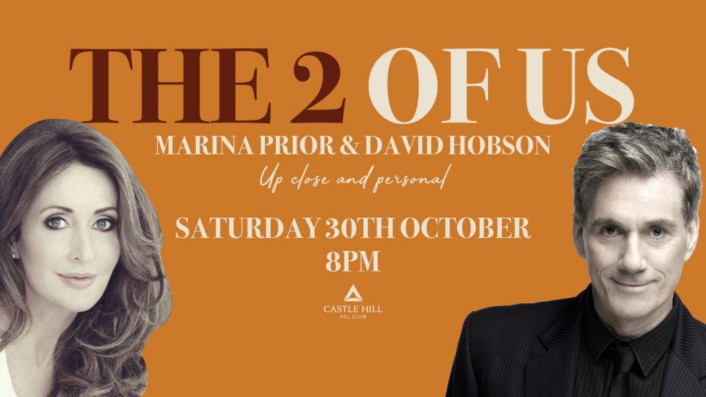 The 2 of Us – Marina Prior & David Hobson