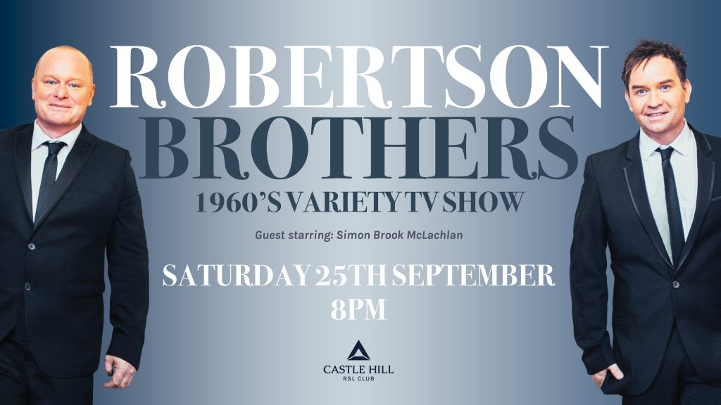 Robertson Brothers 1960's Variety TV Show