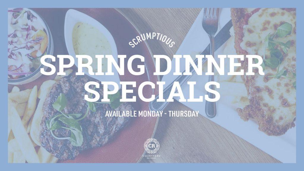 Spring Dinner Specials