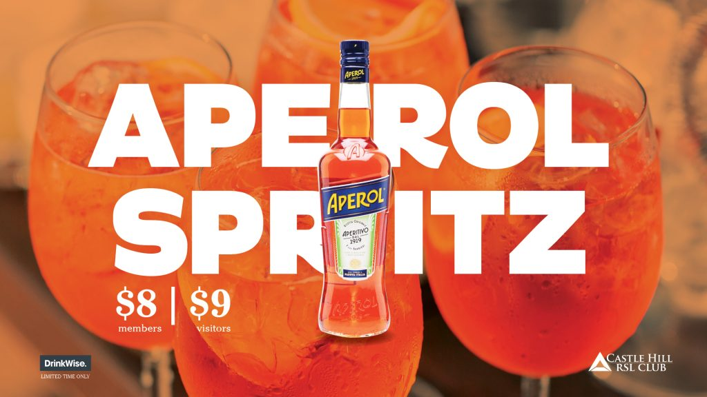 Time for a Spritz