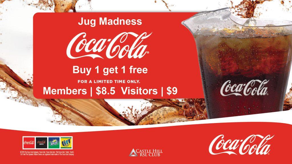 Coca-Cola Jug Madness
