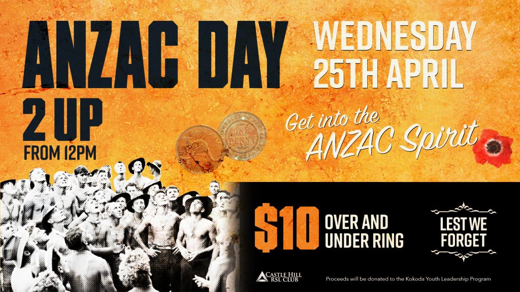 ANZAC Day 2 Up