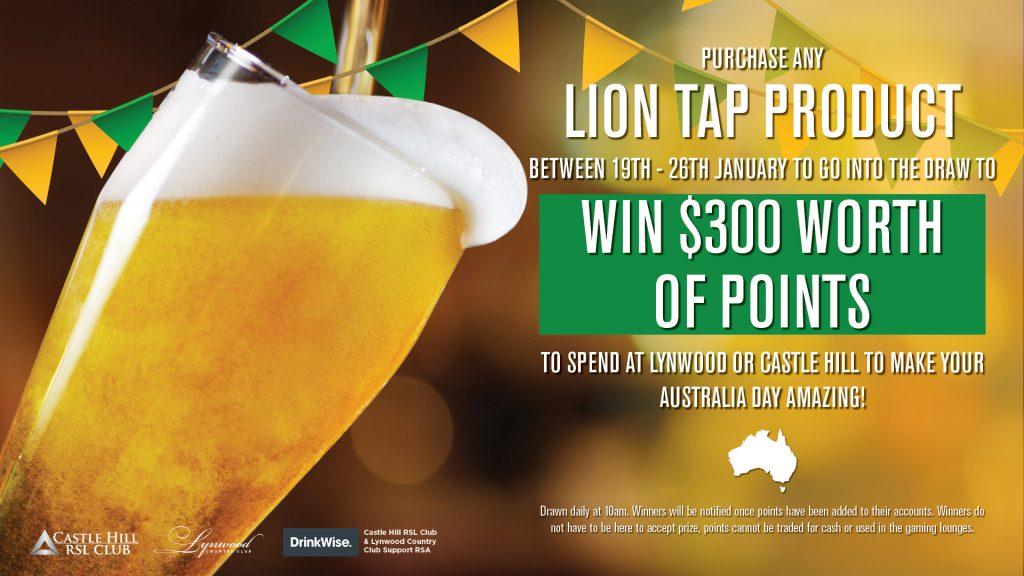 Australia Day Beverage Promo