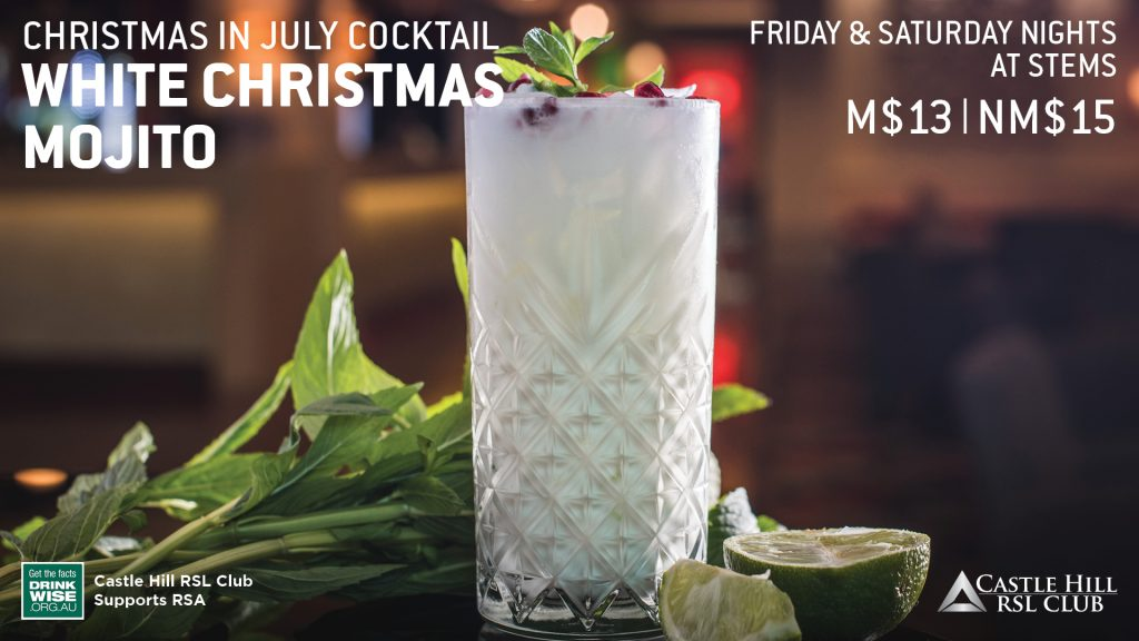 Christmas in July Cocktail