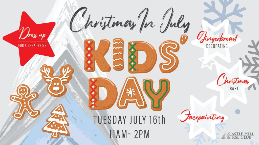 Christmas in July Kids Day