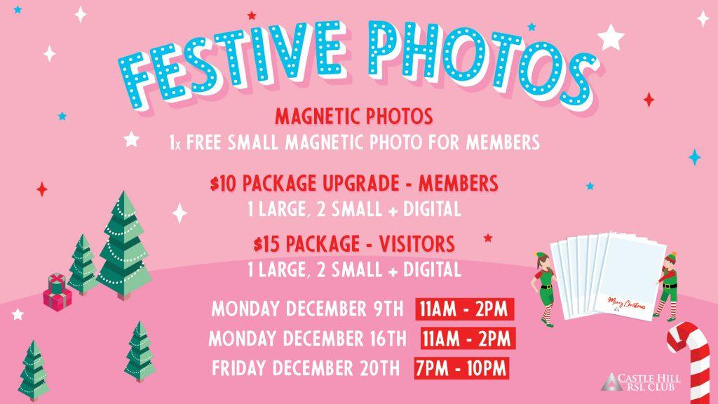 Festive Magnetic Photos