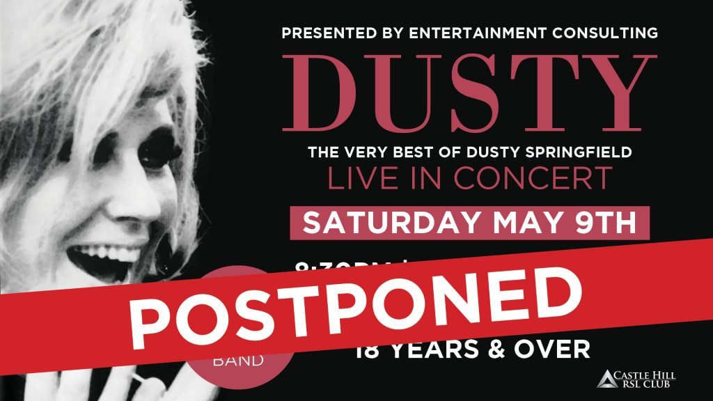 Dusty Live in Concert