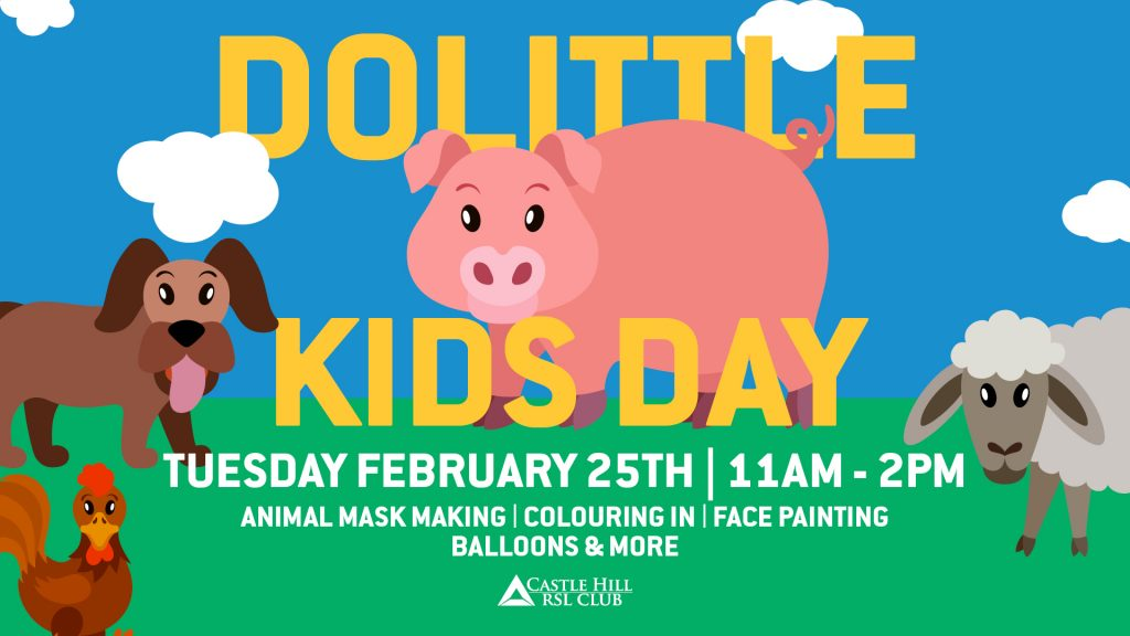 Dolittle Kids Day