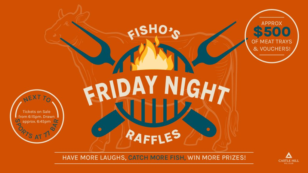Fisho's Friday Night Raffles