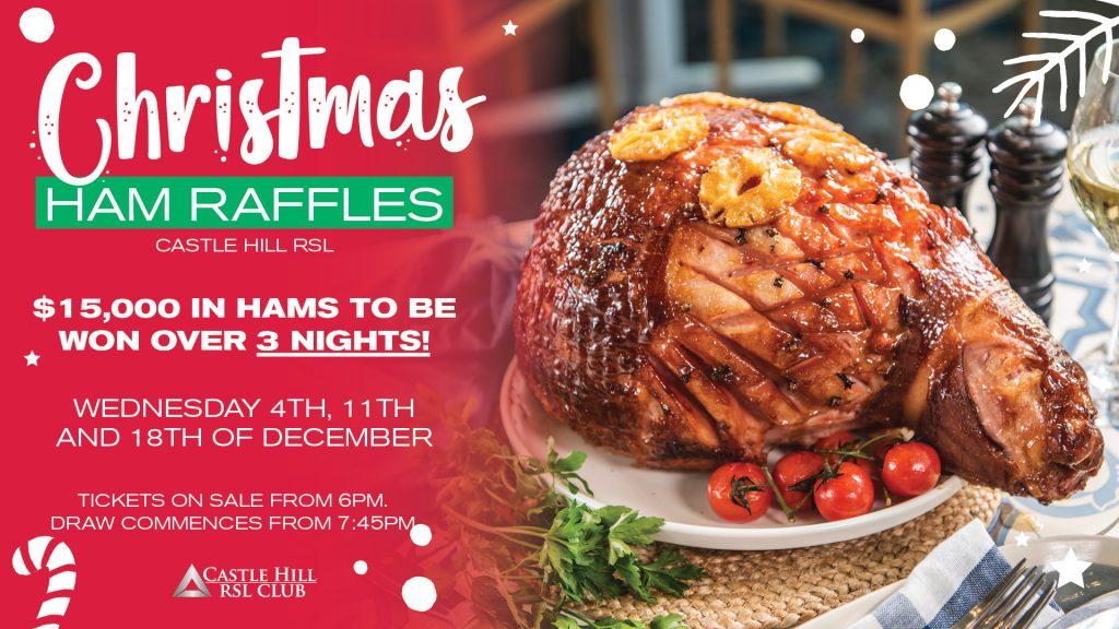Christmas Ham Raffle