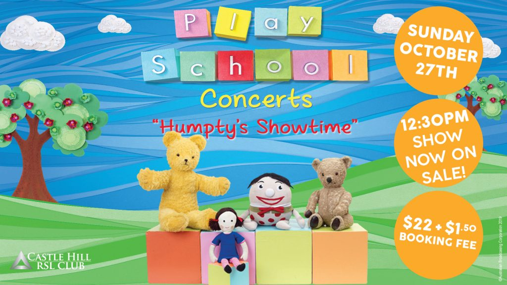 Play School – Humpty's Showtime Concert