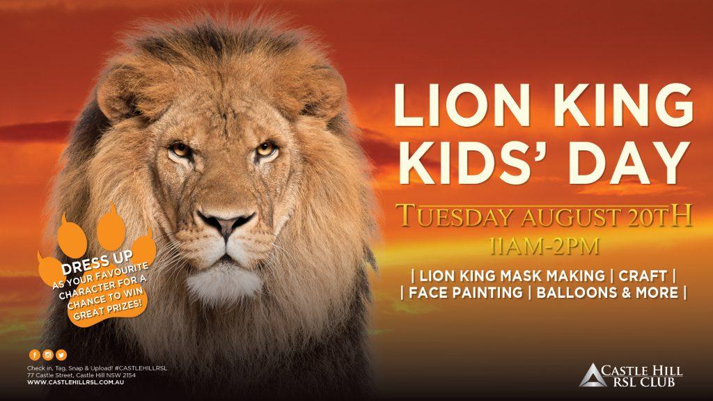 Lion King Kids Day