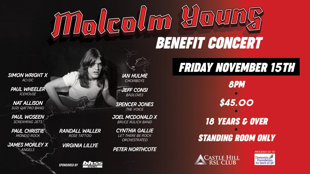 Malcolm Young Benefit Concert