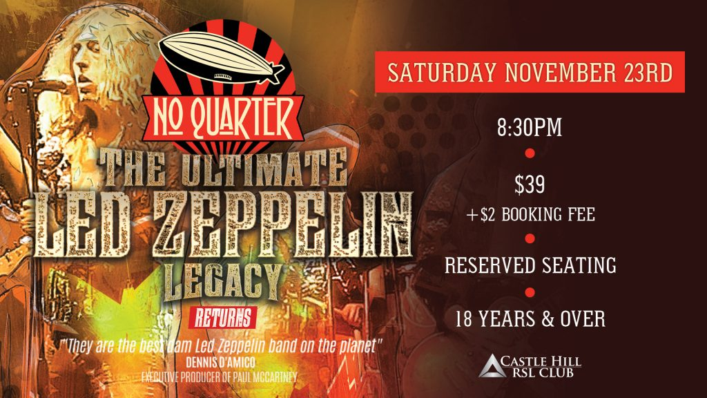 No Quarter – The Ultimate Led Zeppelin Legacy Show