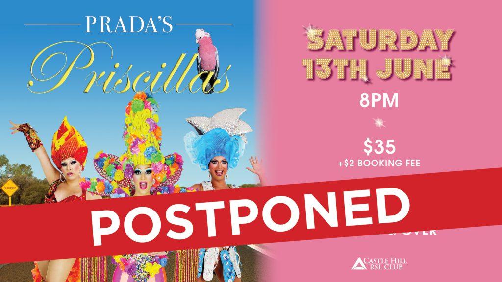 Prada's Priscillas – An All-Male Revue