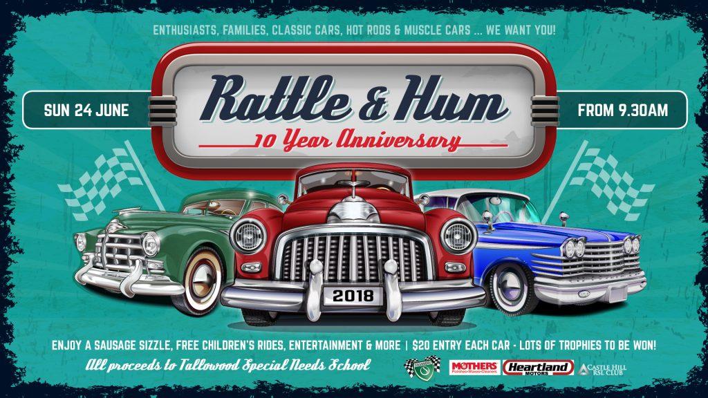 Rattle & Hum Car Show