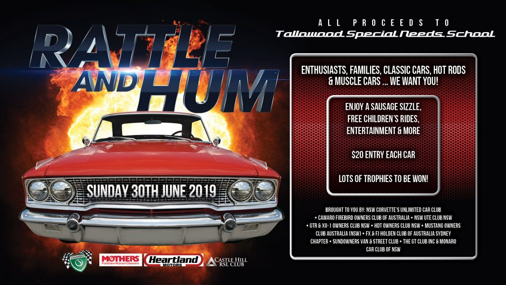 Rattle and Hum Car Show.