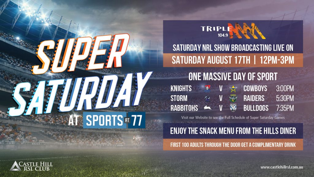 Super Saturday in Sports at 77
