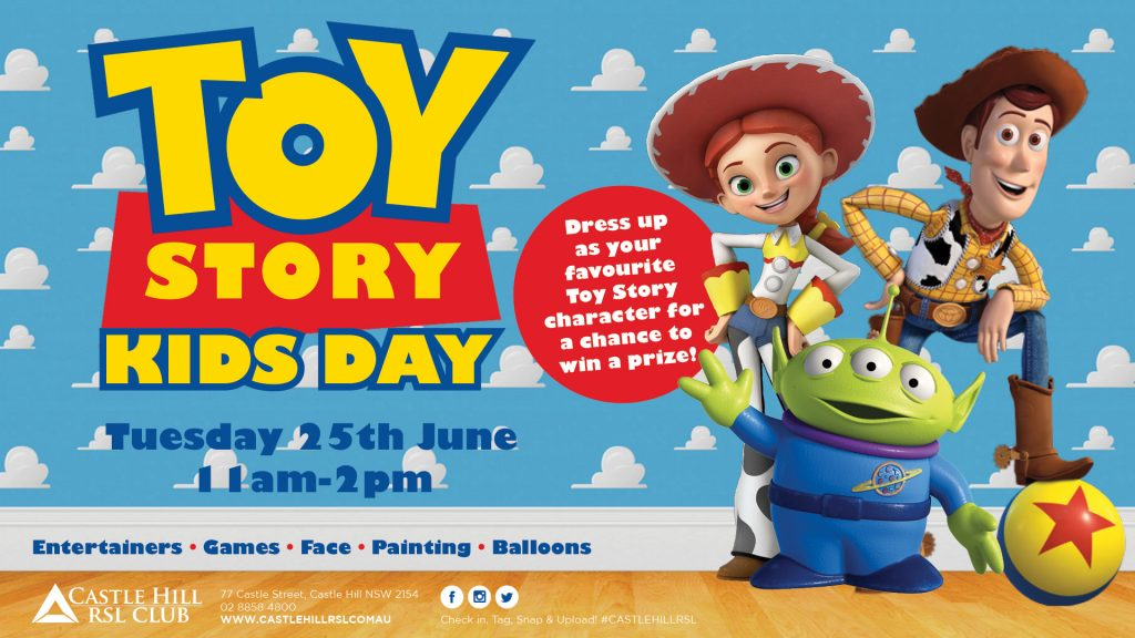Toy Story Kids Day