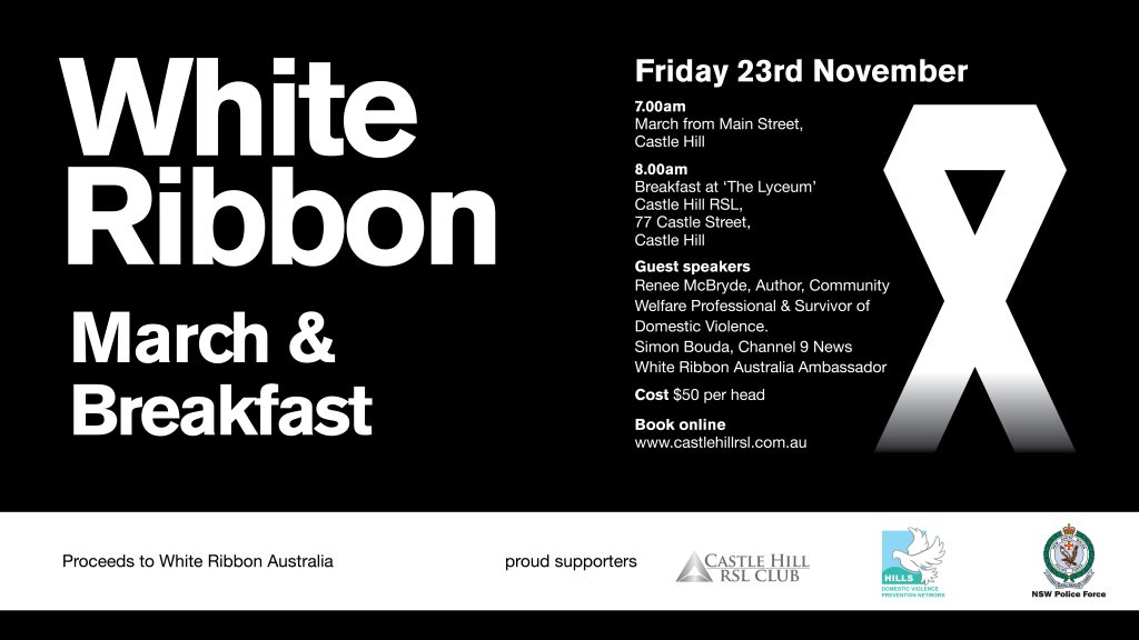 White Ribbon March and Breakfast