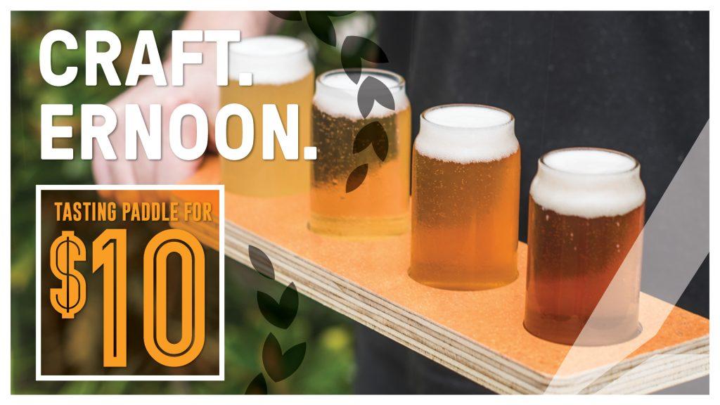 Craft Beer Paddles