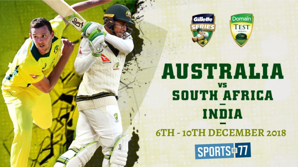 Australia vs India Domain Test Cricket