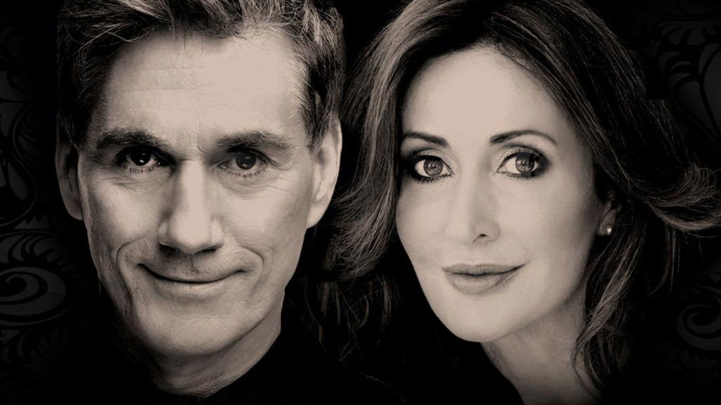 David Hobson and Marina Prior