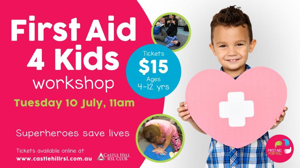 First Aid 4 Kids Workshop