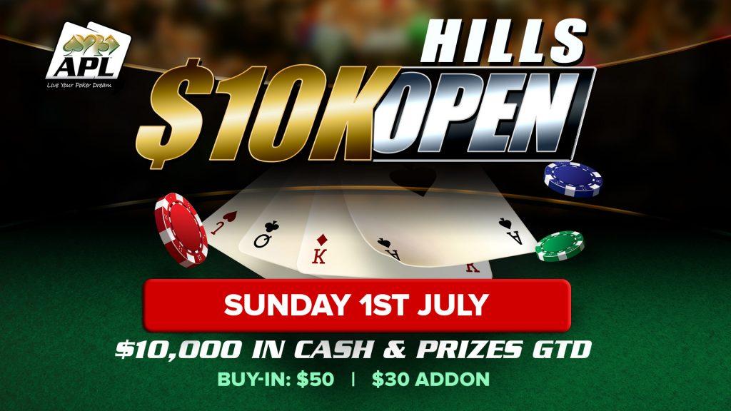 Hills $10k Open Poker