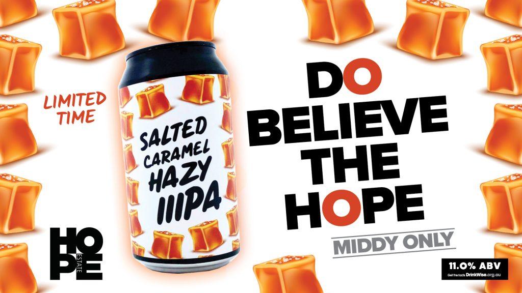 Salted Caramel Hazy Triple IPA