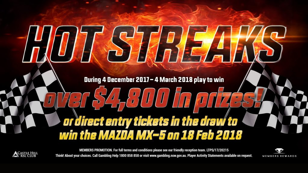Hot Streaks Promotion