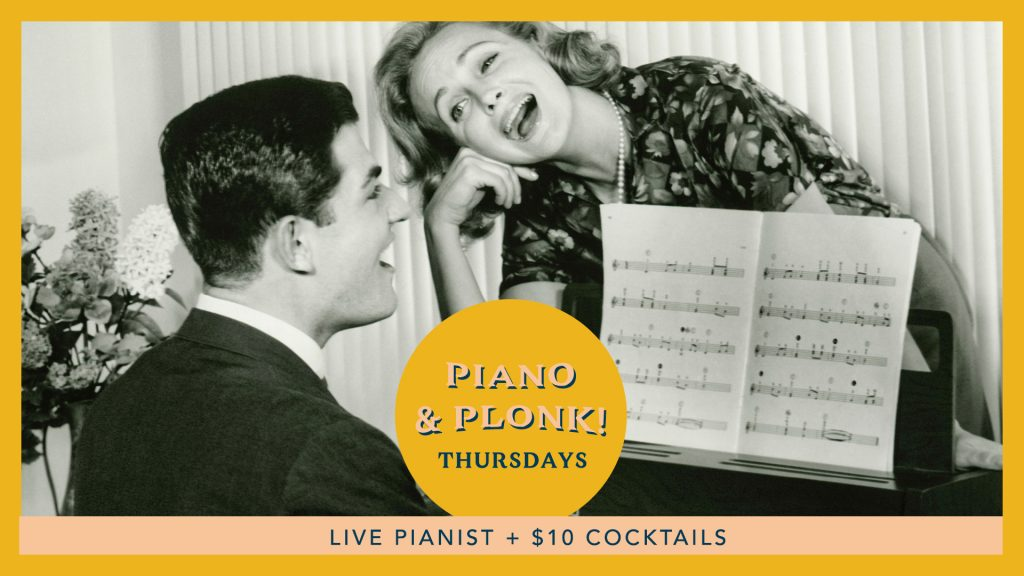 Piano and Plonk Thursdays