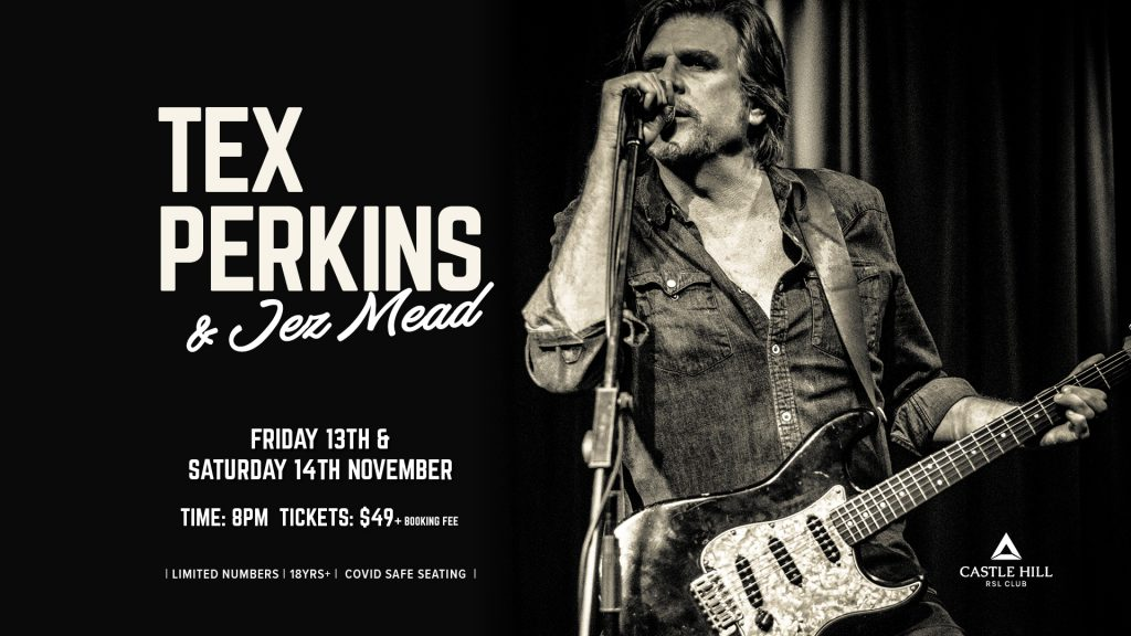 Tex Perkins and Jez Mead