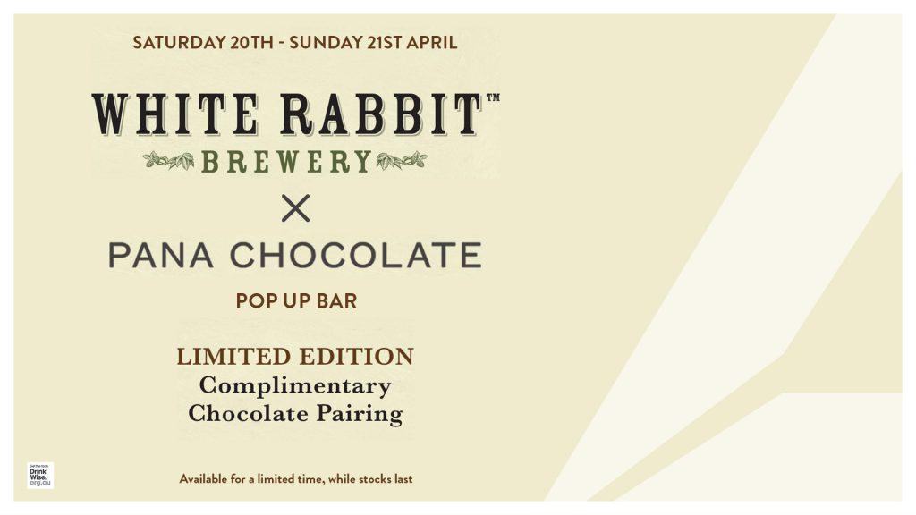 White Rabbit x Pana Chocolate Pop Up Bar