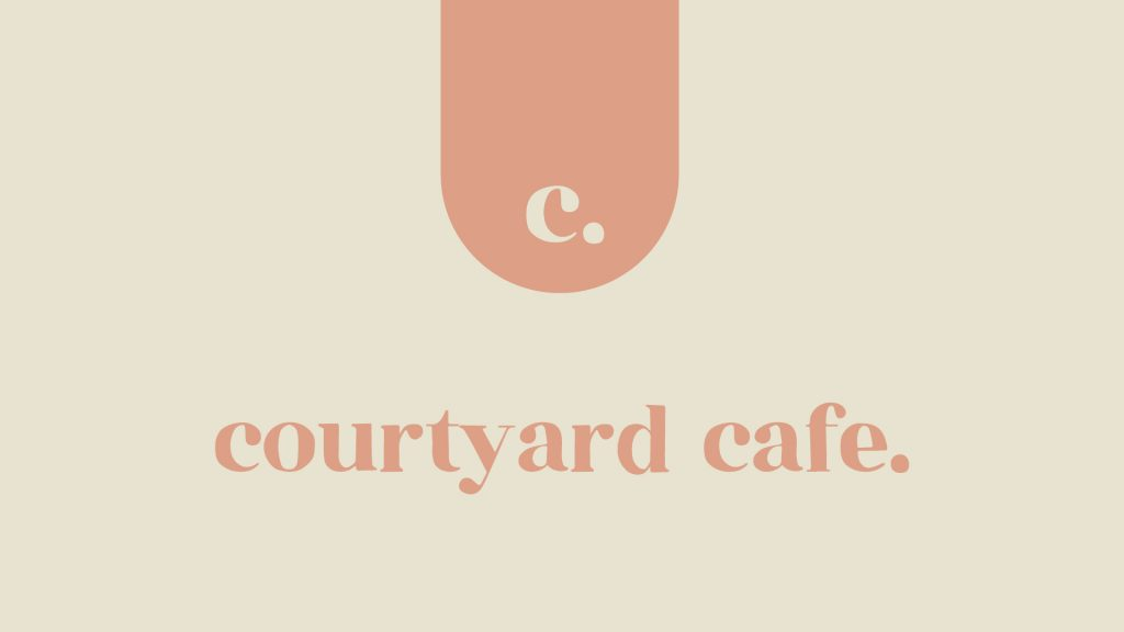 courtyard cafe.